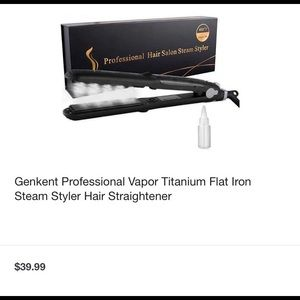 Professional Vapor Titanium Flat Iron